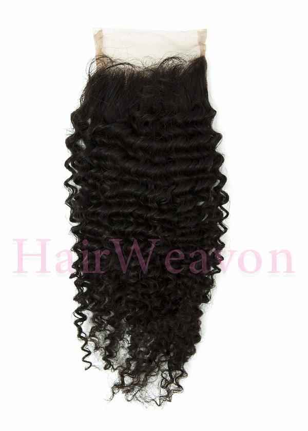 Closure Hair Piece kinky Curly